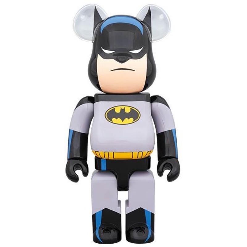 【萬世玩具】現貨 BATMAN ANIMATED 蝙蝠俠 BE@RBRICK 1000%