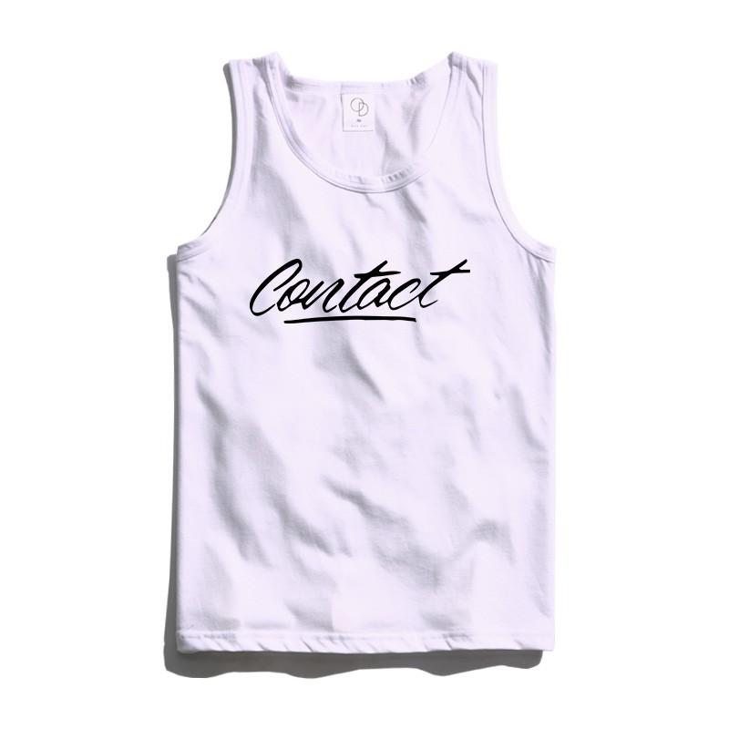 ONE DAY 台灣製 162C102 素背心 寬鬆衣服 短袖衣服 衣服 T恤 短T 素T 寬鬆短袖 背心 透氣背心