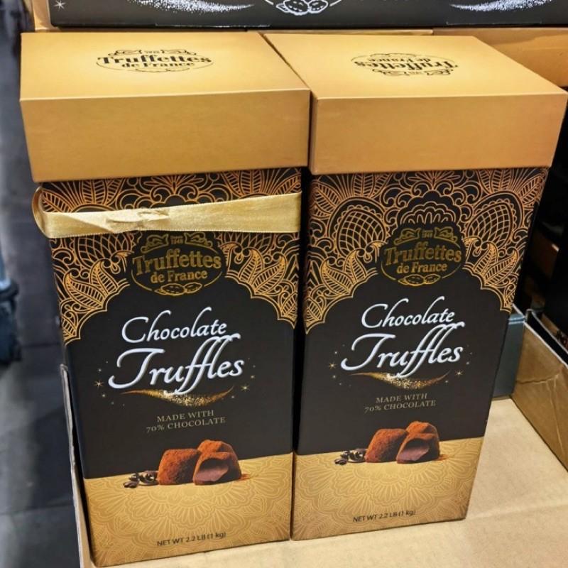 ⚡️01.01-01.10⚡️【限時優惠】Costco代購 Truffettes De代可可脂松露巧克力禮盒 1公斤