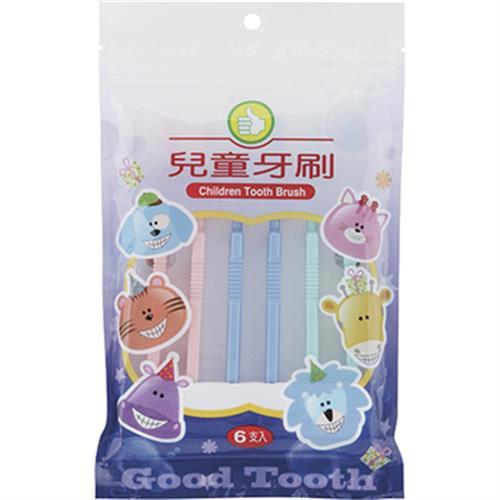 FP 兒童牙刷(6支/包)[大買家]