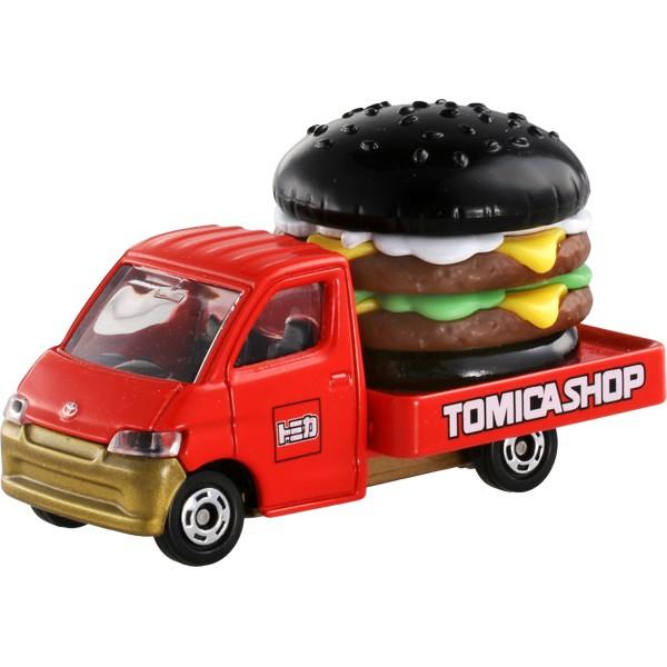 日本Tomica Shop限定商品 TOMIHOUSE 漢堡車食物車TAKARA TOMY多美 小汽車~小太陽日本精品