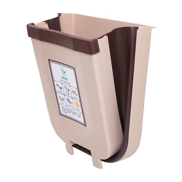 可折疊掛式垃圾桶(1入) 顏色隨機出貨【小三美日】D021486