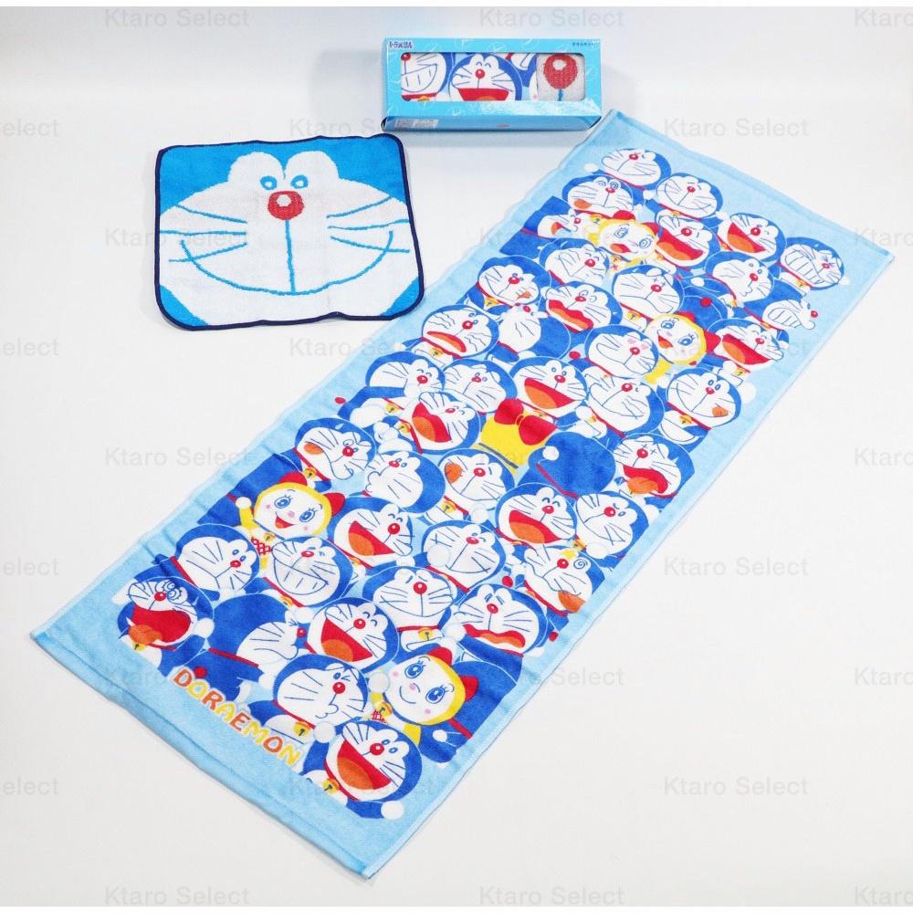 毛巾【Doraemon】哆啦A夢 毛巾手帕組 (全新現貨)