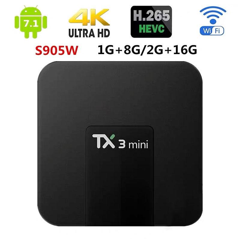 熱賣台灣速發TX3 Mini 安卓機頂盒16GB TV Box S905W 安卓8.1 電視盒 tx3MI
