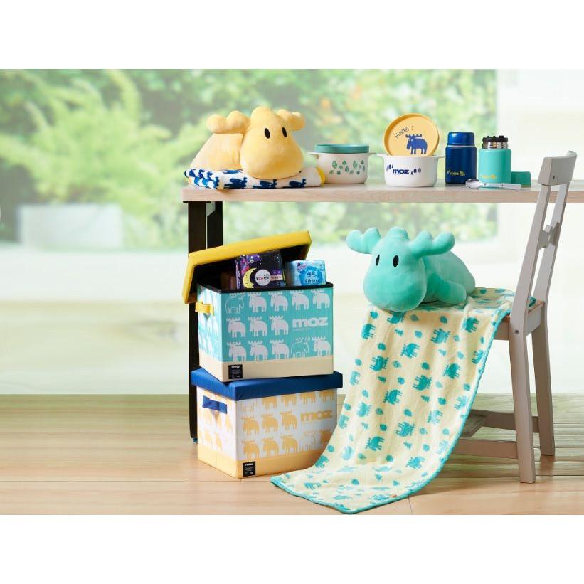 全聯MOZ A4收納箱凳/真空附匙悶燒罐/玩偶毛毯組