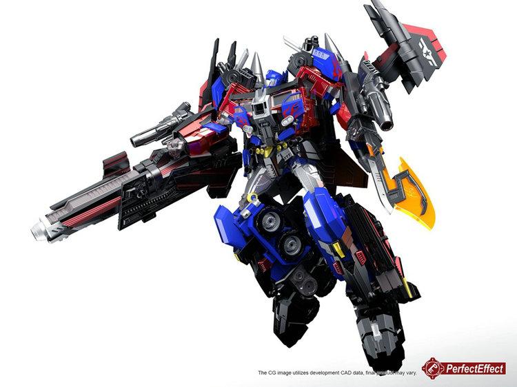 【強襲模玩】PerfectEffect PE DX10 Jetpower Revive Prime 飛翼擎天OP柱車廂