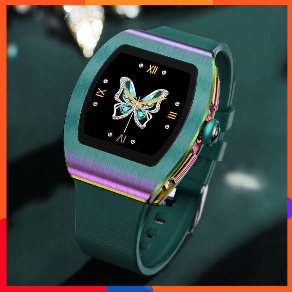 關愛女性智慧手錶防水心率檢測生理週期記錄運動數據收集時尚百搭