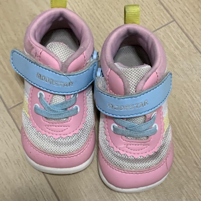Moonstar hi系列學步鞋13粉色