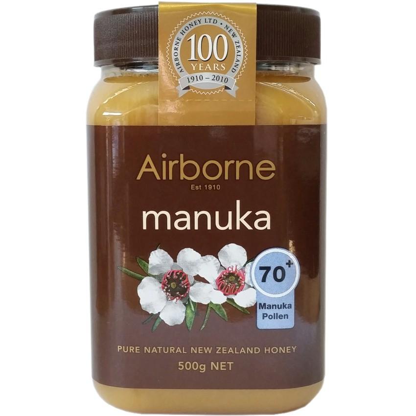 【紐西蘭Airborne艾爾邦】麥蘆卡蜂蜜500g 花粉含量70+ (即期品-2021/03/20)