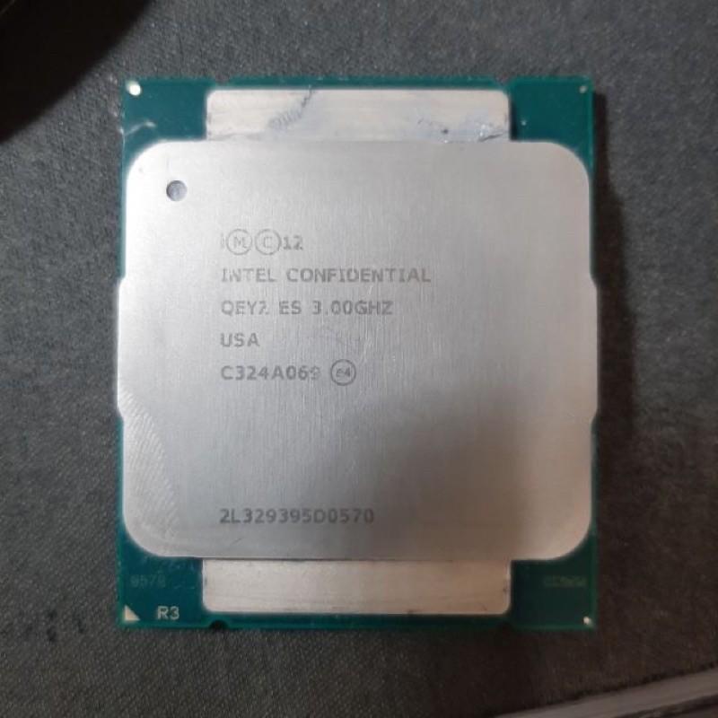 E5 1660 V3 ES版適用X99 2011 效能同I7 5960X i7-5820k
