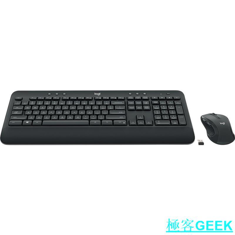 羅技Logitech MK545 雷射無線鍵盤滑鼠組/Unifying接收器/極客GEEK