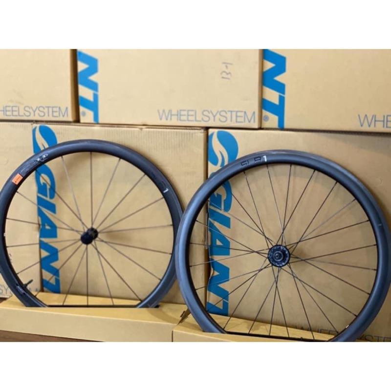 [KOM單車]請內洽 2021 GIANT SLR1 42mm 全能碳纖輪組  無內胎系統 無框勾 C夾 SLR