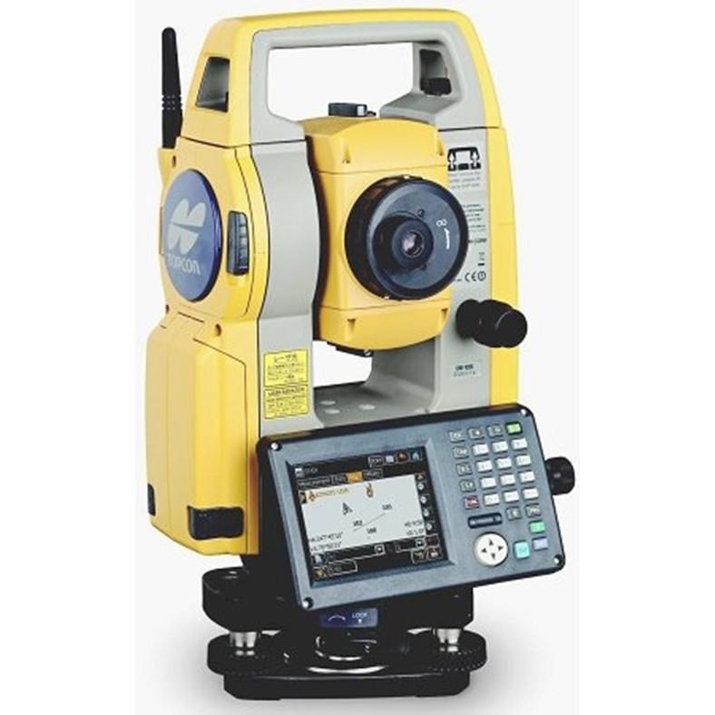 TOPCON OS-101 光波 全測站 測距經緯儀 全站儀 一秒精度 wince觸控界面 免稜鏡500米 經緯儀