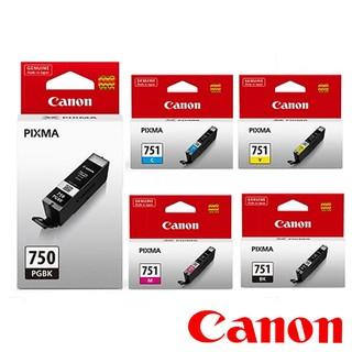 CANON PGI-750 PGI-750XL CLI-751 CLI-751XL原廠墨水匣 含稅 新北市