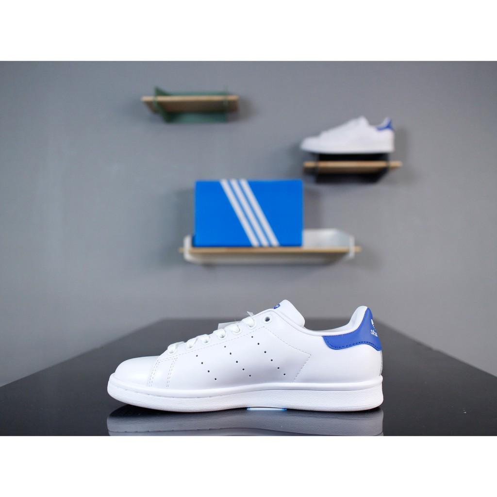 przejść do trybu online 100% jakości dobra sprzedaż Adidas Originals Stan Smith 愛迪達 經典 舒適 百搭 休閒鞋 男女鞋 白寶藍