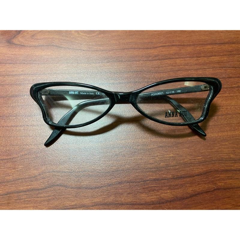 [9折優惠] ANNA SUI 蝴蝶造型光學眼鏡框 附原廠眼鏡盒 全新