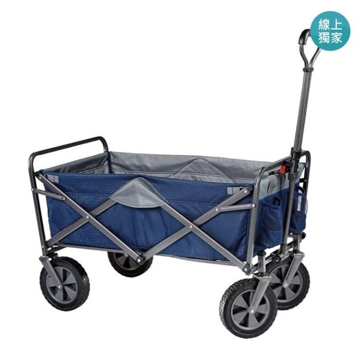 Mac Sports 折疊式拖車 購物車 野餐車 手推車 戶外折疊裝備拖車[好市多代購]Folding Wagon