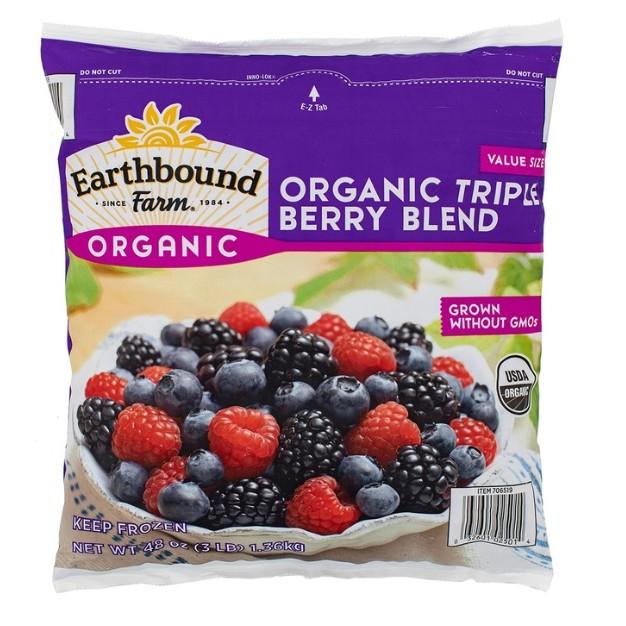 【廷廷小幫手】Earthbound Farm 冷凍有機三種綜合莓 有機藍莓 有機黑莓 有機覆盆子