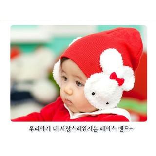 現貨24H出 韓版 可愛 大兔子 護耳帽 套頭帽 男童 女童 童帽 兔兔 造型帽 BABY 臺南市