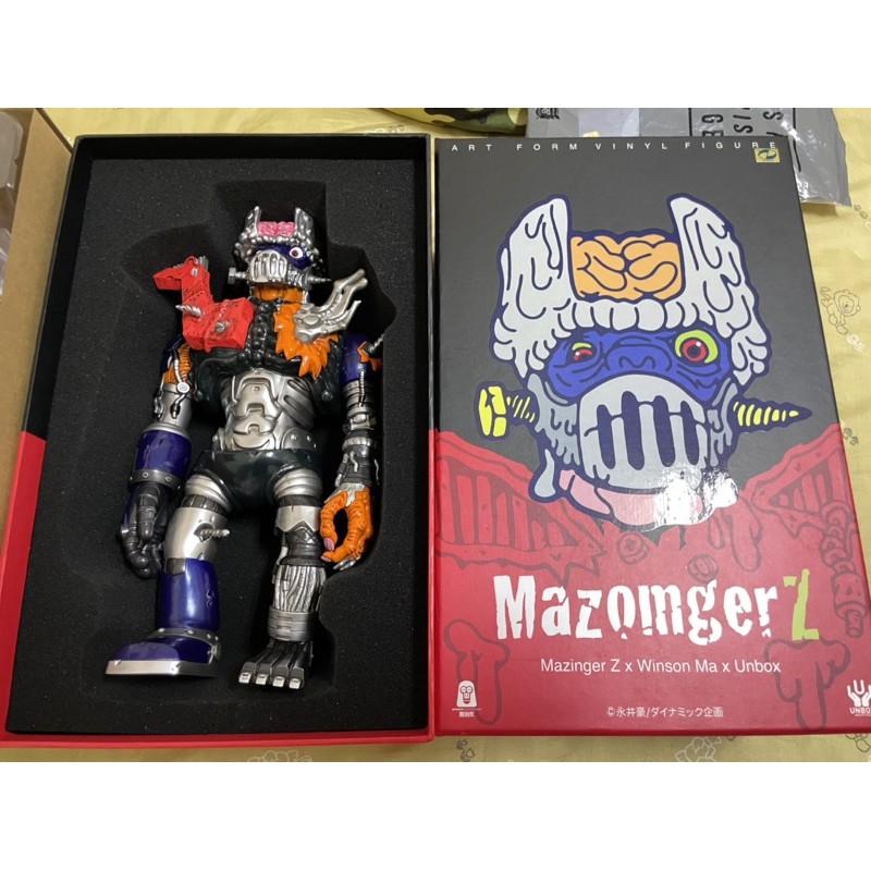 UNBOX x MAZINGER-Z x WINSON MA 猿創作 永井豪 無敵鐵金剛 NAGAI 全新現貨 最後一隻