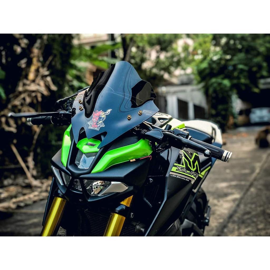 Moto橘皮 MSLAZ Z800 面罩 頭罩 大燈罩 風鏡 YAMAHA r3 mt15 r15 mt03 mt07