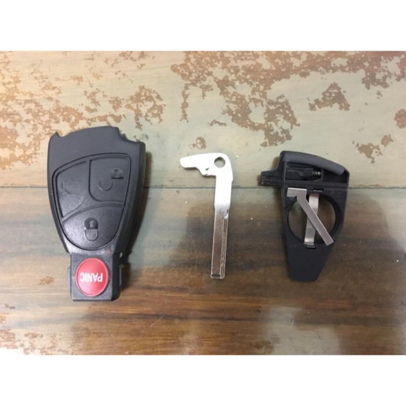 BENZ 外殼 鑰匙 電池座 W202 W203 W210 W211 W220  3+1鍵