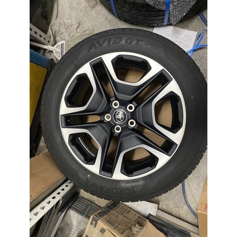 TOYOTA RAV4 五代 AD 越野版本 原廠 19吋輪框輪胎組