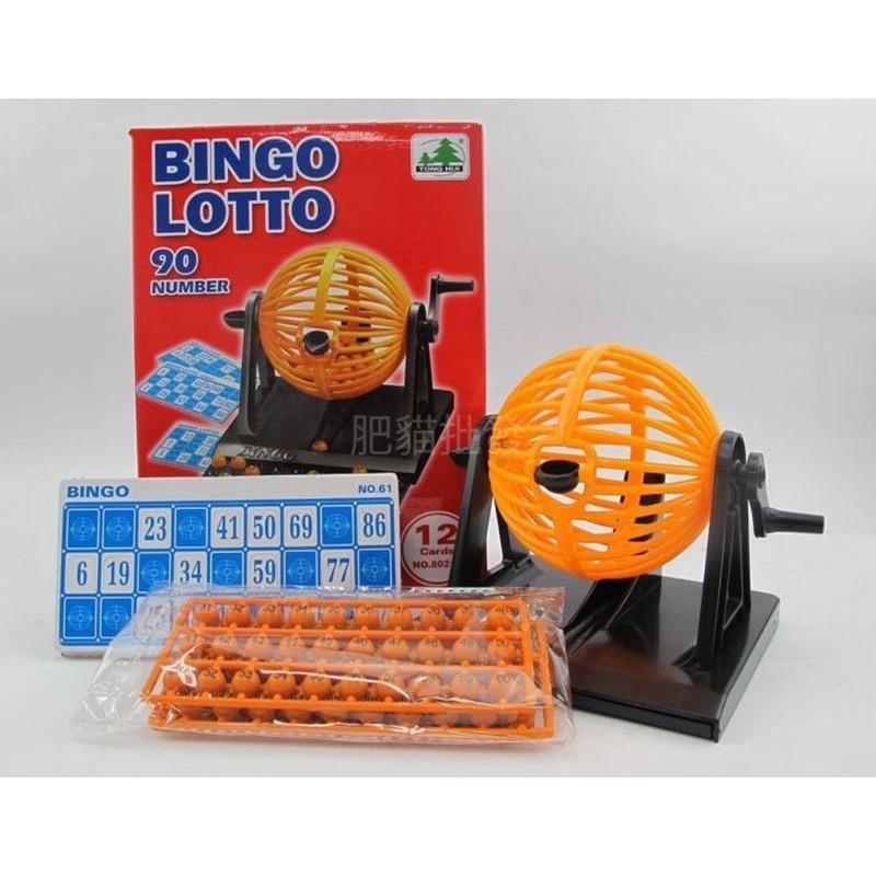 台灣現貨 搖獎機 盒裝90球 賓果 抽獎機 樂透機 賓果機 兒童玩具