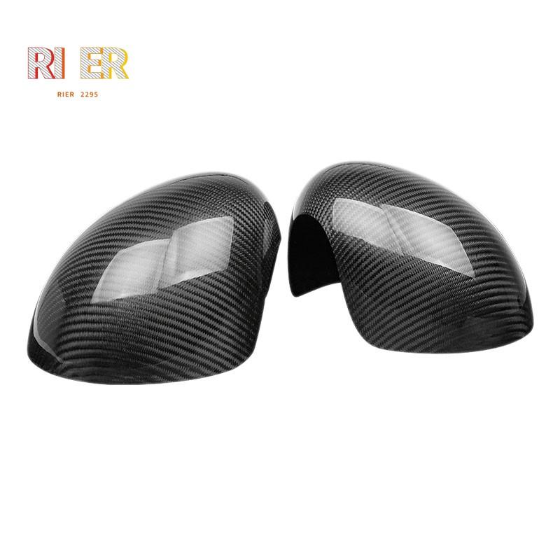 【現貨】適用於2018-2020年Mini Cooper / Mini Cooper S後視鏡蓋飾條(碳纖維)