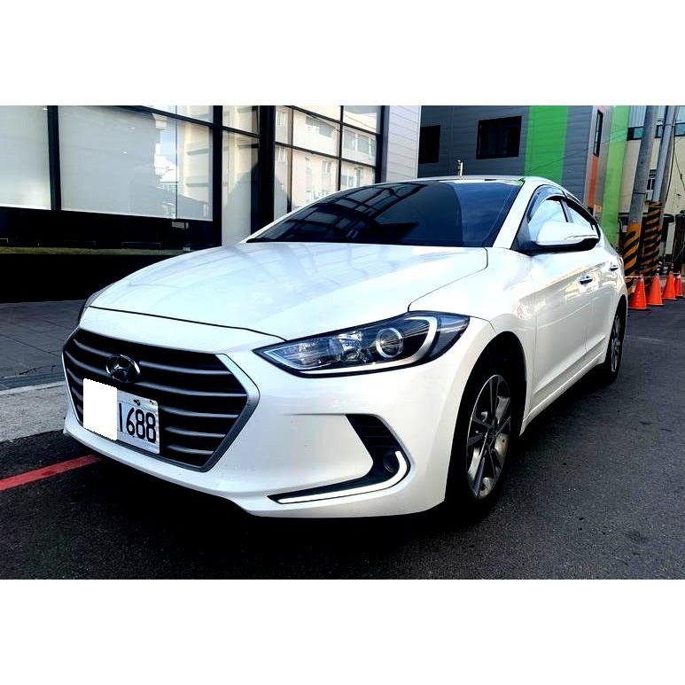 -自售-現代2017年Elantra 1.6 柴油 新車價78.9
