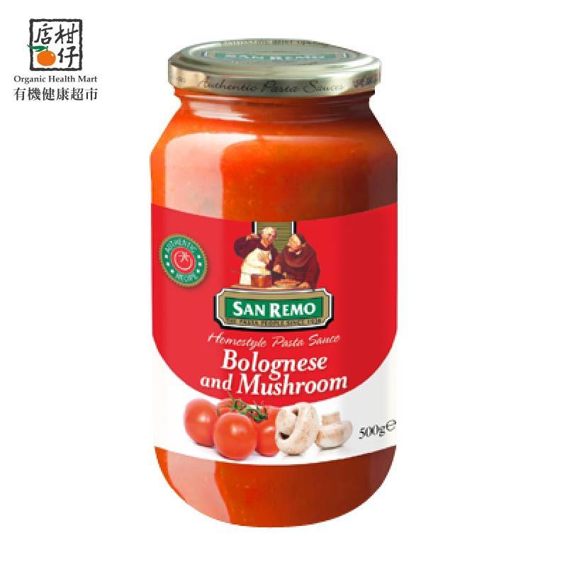 聖雷蒙頂級麵醬-起司蘑菇(500g/罐)