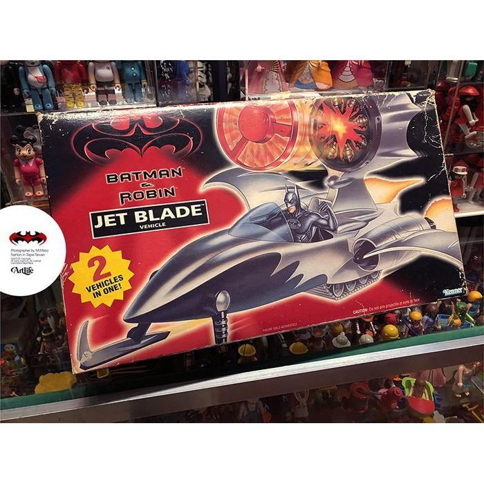 Artlife ㊁ DC KENNER 1997 JET BLADE BATMAN 蝙蝠俠 噴射飛機 飛艇 絕版老玩具
