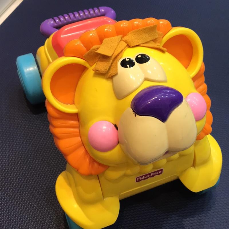 費雪牌-獅子學步兩用車
