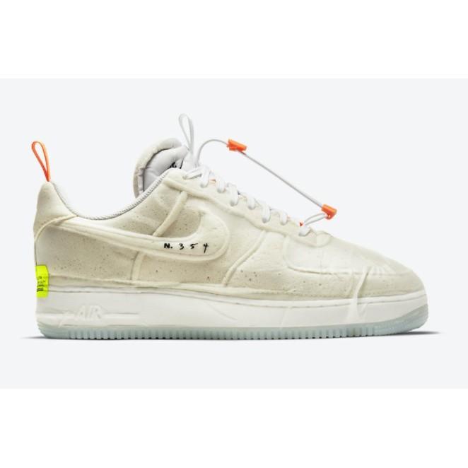 "ISNEAKERS Nike Air Force 1 Experimental ""Sail"" 米白 CV1754-100"