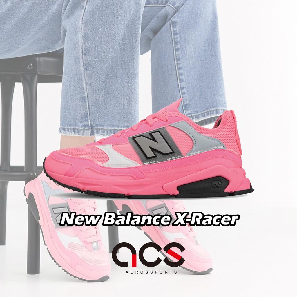 New Balance 休閒鞋 X-Racer 粉紅 灰 女鞋 WSXRCHFAB 【ACS】