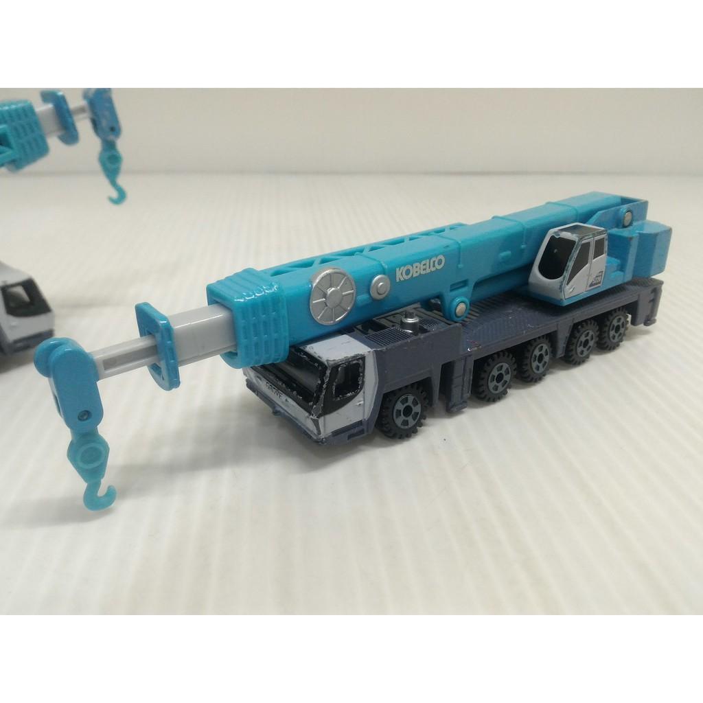 絕版 多美卡 TOMICA NO.133 KOBELKO KMG5220 合金車 模型車 玩具車(03