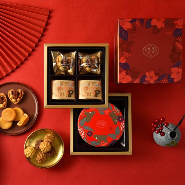 【鴻鼎菓子】景星鳳凰禮盒(兩款鐵盒隨機出貨)