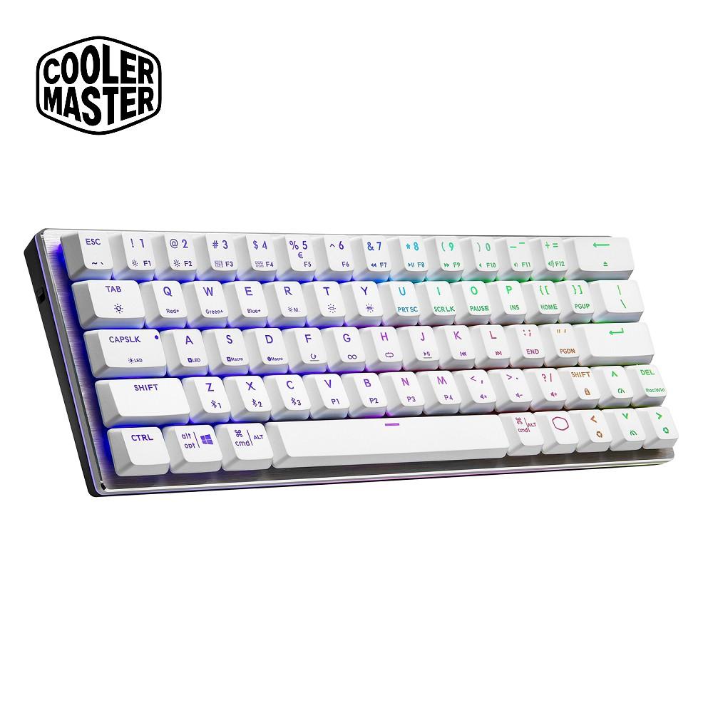 (藍牙鍵盤)Cooler Master SK622 藍芽矮軸RGB機械式鍵盤 白色紅軸/青軸/茶軸(英刻)