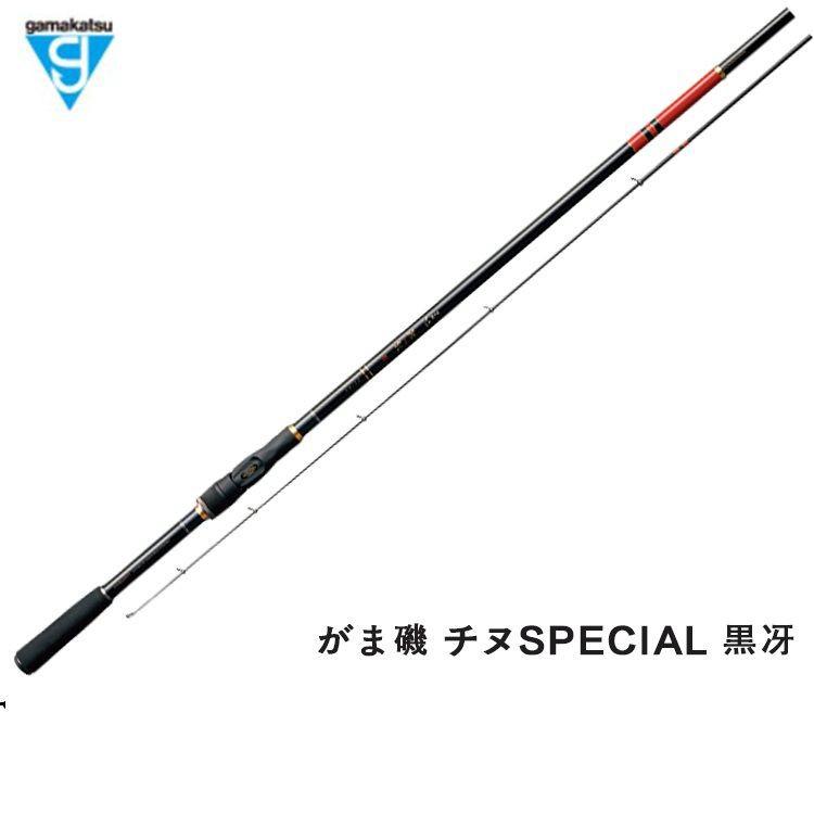 PDD18日本進口Gamakatsu伽瑪卡茲新款黑鯛磯釣竿黑冴磯竿海釣竿本土產