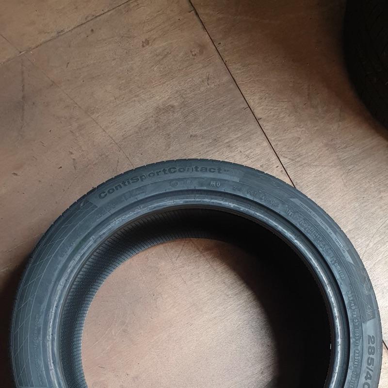德國馬牌285 40 22寸全新輪胎