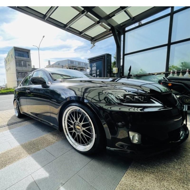 自售 Lexus is250頂級黑色 黑內裝 天窗 冷熱通風椅 二手車 可車換車 吉米四驅可貼換 偉士牌gts300也行