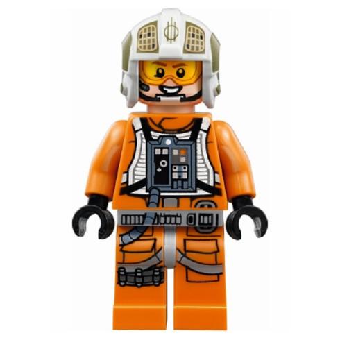 LEGO 樂高 星際大戰 人偶 sw932 飛行員 Dutch Vander 75181