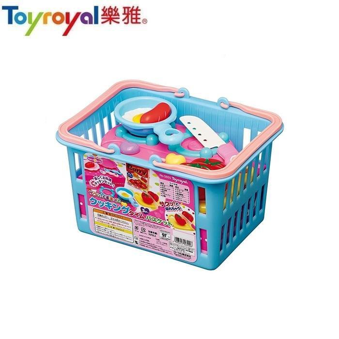 樂雅 Toyroyal 購物籃切切樂-甜點組