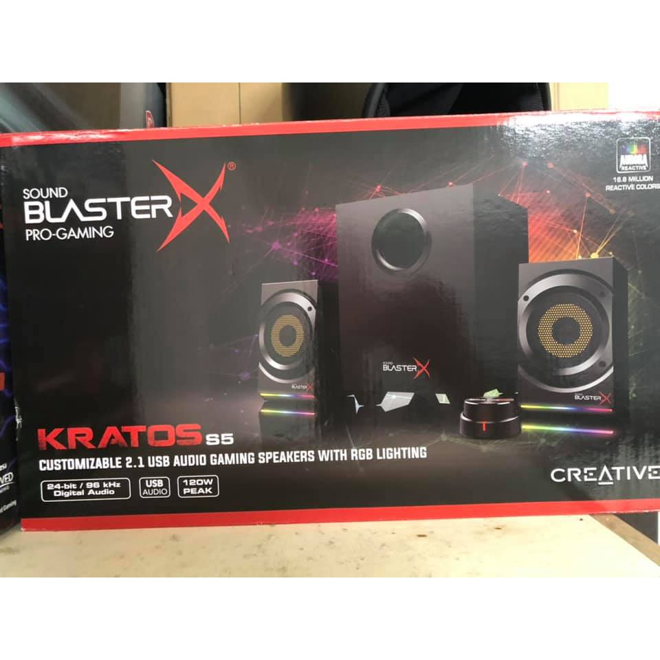 CREATIVE MF Kratos S5 2.1 創新未來2.1喇叭