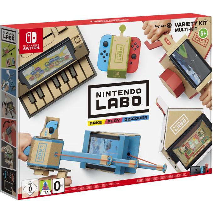 NS遊戲 任天堂實驗室 LaBo Toy-Con01 VARIETY KIT 支援中文 瑪俐賽車【魔力電玩】
