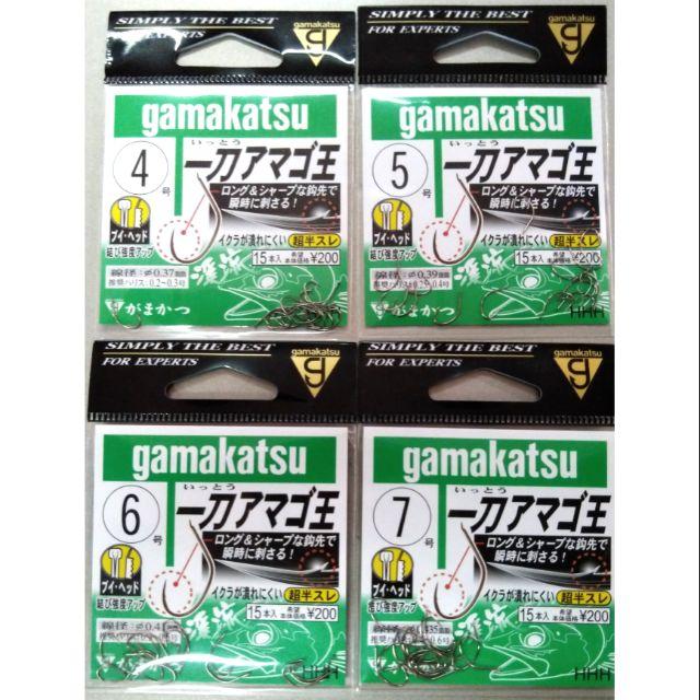 ★昔日傳奇★ Gamakatsu 一刀王 蝦鈎 泰國蝦鈎