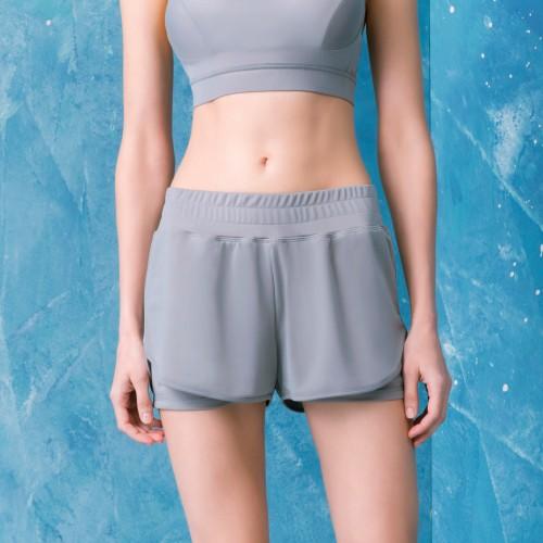 LeRêve Paris-Aero 法式美型雙層運動短褲