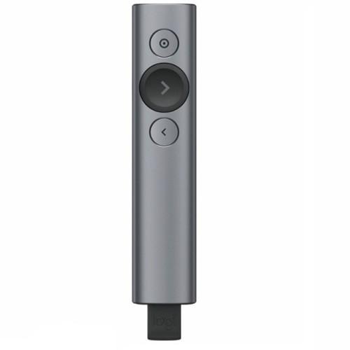 羅技 LOGITECH 910-004865 SPOTLIGHT 簡報遙控器-質感灰 會議簡報器 原廠公司貨 全新未拆