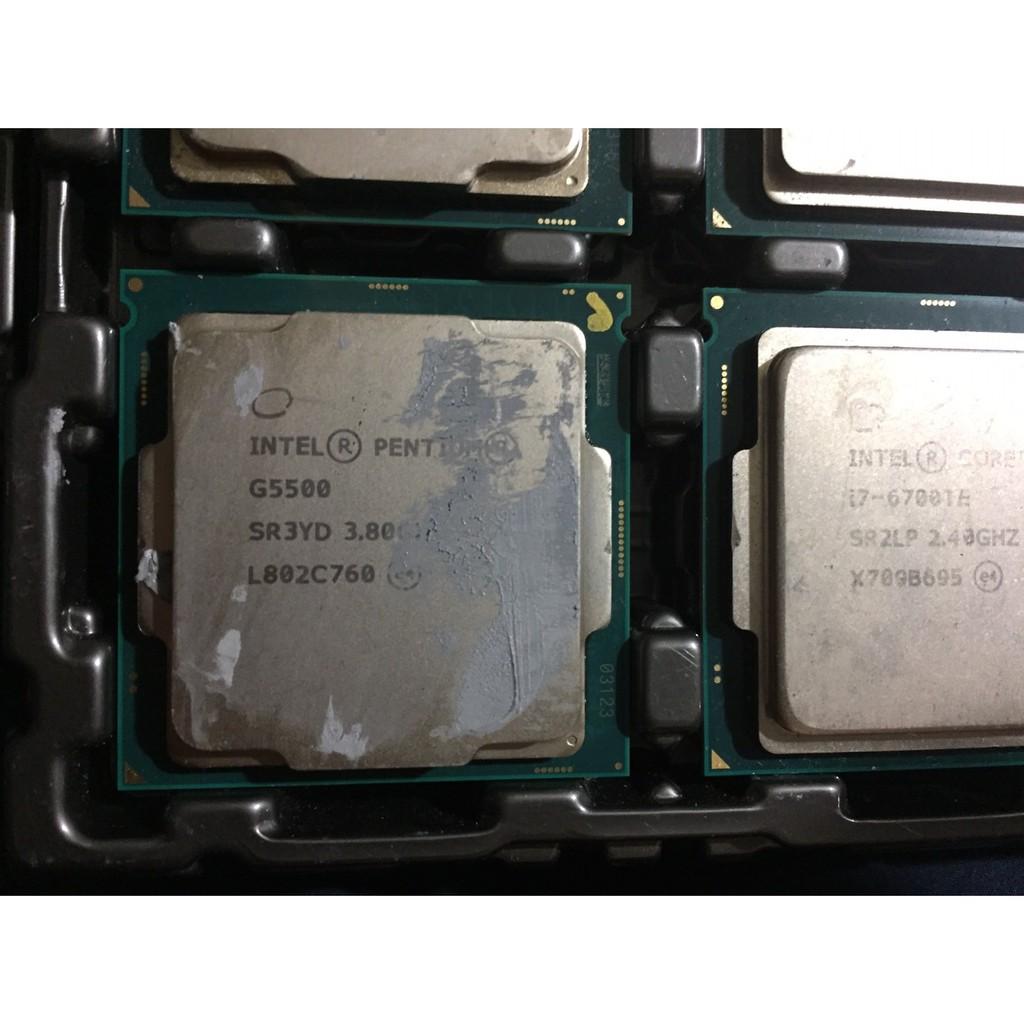 Intel Pentium G5500 3.8G / 3M SR3YD正式版 1151 處理器