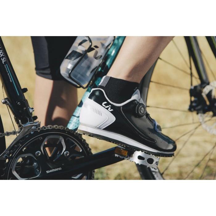 🔥全新公司貨🔥GIANT 捷安特 PRIME/FAMA 女性/自行車專用硬底鞋 白、黑 現貨超殺優惠價